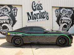 """Caption     2015 Chevy Camaro designed by the crew of Gas Monkey Garage and Discovery Channel's """"Fast N' Loud"""" Source     Soboba Casino Media Contact     CONTACT: Soboba Casino: 23333 Soboba Road, San Jacinto, CA 92583, (951) 665-1000; Contact: Michael J. Broderick, Soboba Casino, Director of Marketing, mbroderick@soboba.net"""