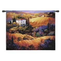 Fine Art Tapestries Evening Glow Wall Tapestry -