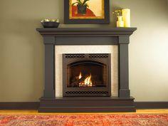 Hearthside Fireplace U0026 Patio | Heat And Glo SL 750 Slim Line Gas Fireplace