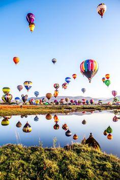 International Balloon Festival in Leon, Guanajuato, Mexico  #HotAirBalloons