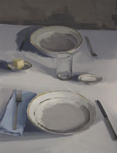 Carrie Mae Smith's Dinner Paintings