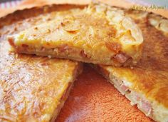 Quiché Lorraine - tarta salada francesa