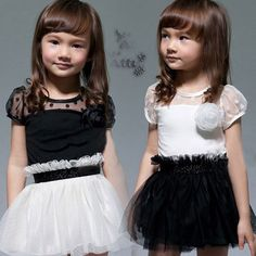 >> Click to Buy << qz-0361 2017 summer Korean version of the new fashion corsage baby child models Girls yarn dress  #Affiliate