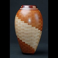 Woodturning [I like the use of segments on a good shape]