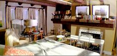 The master bedroom from the set of Twilight- Kristen & Edward's room.