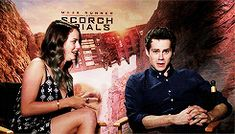 favd_colethewolf-February 24 2018 at Maze Runner The Scorch, Maze Runner Thomas, Maze Runner Cast, Maze Runner Series, Dylan O'brien, Newt Thomas, James Dashner, The Scorch Trials, Teen Wolf Cast
