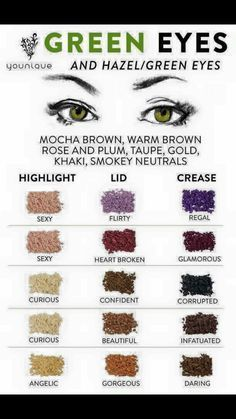 If you'd like to enhance your eyes and also increase your good looks, finding the best eye make-up tips will help. You want to make sure you put on makeup that makes you look even more beautiful than you are already. Green Eyes Pop, Hazel Green Eyes, Eyeshadow For Green Eyes, Makeup For Green Eyes, Green Eyes Facts, Brown Hair Green Eyes, Natural Eyeshadow, Purple Makeup, Natural Makeup