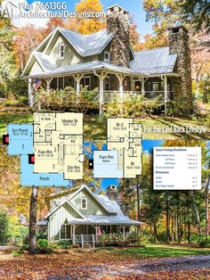 Architectural Design Rugged and Rustic House Plan 26613GG. This two story home gives you 1,700+ of heated living space. #26613GG #adhouseplans #architecturaldesigns #houseplan #architecture #newhome #newconstruction #newhouse #homedesign #dreamhome #dreamhouse #homeplan #architecture #architect #housegoals #rustic #rusticstyle #rustichome #ruggedandrustic #rugged