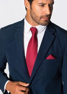 Anzug (2-tlg.) Regular Fit, bpc selection, dunkelblau