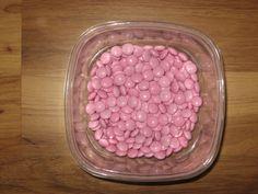 Half pound light pink chocolate M&Ms FREE SHIPPING!!