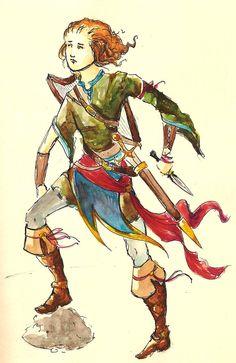 The Minstrel Boy by Sezario