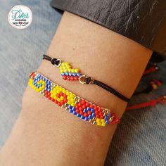 Bead Loom Bracelets, Beaded Bracelet Patterns, Bead Loom Patterns, Bracelet Crafts, Peyote Patterns, Jewelry Crafts, Beading Patterns, Seed Bead Jewelry, Molde
