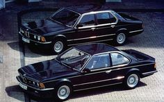 BMW E23 7 Series & E24 6 Series- the greatest sedan and coupe ever made.