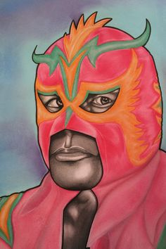 Ultimo Dragon charcoal and chalk pastel on paper by ignaciosalinas, $65.00