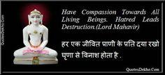 jain quote nonviolence Mahavir swami