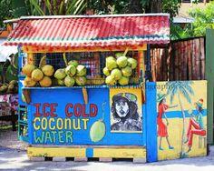Jamaica Coconut Hut Photo by Kellee Fabre by LoveKellee on Etsy, Jamaican Art, Jamaican Recipes, Southern Caribbean, Caribbean Sea, Caribbean Queen, Jamaica Travel, Cruise Travel, Jamaica Beach, Puerto Rico
