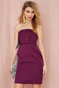 Cameo Play with Fire Strapless Dress