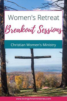 Excellent breakout session resources for your next Christian women's retreat. Large or small groups will have plenty to do with these ideas. #womensministry