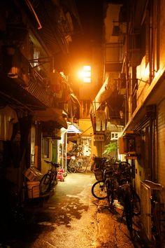 Street in Cheung Chau Island, HK