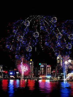 Fireworks (GIF)
