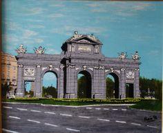 Butragueño Frutos Mario. Puerta de Alcala