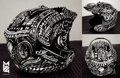 Cannonball Baker Helmet