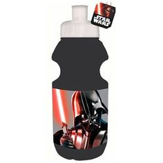 This Star Wars Sports Drink Bottle features a screw on sports cap, ideal for sports or school packed lunches
