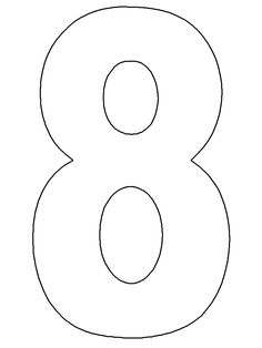 template Number Birthday Cakes, Number Cakes, Cake Templates, Templates Printable Free, Number Templates, Numbers For Kids, Alphabet And Numbers, Resin Crafts, Paper Crafts