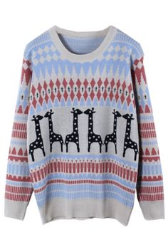 Favorite Ranking Zigzag Sweater