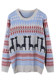 Favorite Ranking Zigzag Sweater