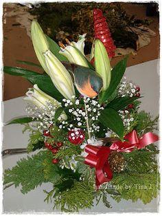 O ozdobach wigilijnych i nie tylko Christmas Wreaths, Holiday Decor, Plants, Handmade, Home Decor, Hand Made, Decoration Home, Room Decor, Plant