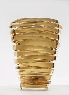 Anna Torfs, Parts High, crystal gold | glass