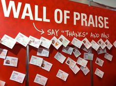 employee recognition wall - Google Search
