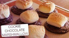 Cookie de Chocolate e Marshmallow - Confissões de uma Doceira Amadora