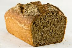 No carb bread with flax seed, eggs, oil, BP, salt, water, stevia