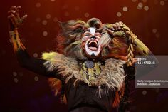 SINGAPORE - JANUARY 13: Performer Earl Gregory plays the character Rum Rum Tugger for the musical 'CATS' during a media preview at the Marina Bay Sands Mastercard Theatre on January 13, 2015 in Singapore. The musical by Andrew Lloyd Webber, holds the record for one of the longest running musical in West End history playing for 21 years and will make a return to Singapore from January 9 to February 1, 2015.