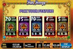 #TigerTreasures video slot game is all about nature and #massive money wins. If you hit the top non progressive jackpot you can win 30,000 coins. Play now #online to learn more!  Bally Technologies has a video slot game called Tiger Treasures with no pay-lines, but 243 ways for you to win and some very #exciting free games.