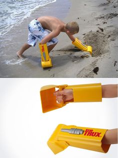 Every kid should have a set of these . . . would also be great for snow