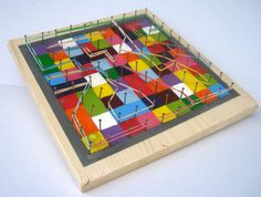 This item is unavailable Marble Maze, Crafts For Kids, Arts And Crafts, Maze Game, Diy Games, Science Art, Recycled Art, Fun Learning, Craft Art