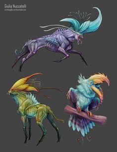 Creatures from plants 02 by Spighy.deviantart.com on @DeviantArt