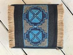 Talisman Bangalow Beaded Clutch Leather Tooling, Leather Clutch, Boho Bags, Beaded Clutch, Vintage Leather, Rattan, Purses And Bags, Wallets, Bamboo