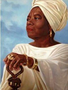 Mya Angelou