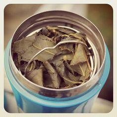 Alishan Oolong tea leaves