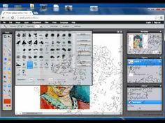During this tutorial you will learn how to create a digitally painted image from a famous painting using pixlr photo editor. Middle School Art Projects, High School Art, Digital Art Beginner, Art Lessons, School Lessons, 6th Grade Art, Corel Painter, Digital Painting Tutorials, Art Sites