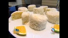 Edu Guedes faz bolo de laranja gelado com coco - Vídeos - R7