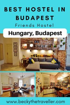 Are you looking for the best hostel in Budapest? Read about my stay at Friends Hostel Budapest. A lovely, clean and tidy hostel in a perfection location for exploring the city. You'll be made to feel welcome at Friends Hostel Budapest without feeling like you're in a nightclub (aka a party hostel!) Full review on Friends Hostel Budapest | Places to stay in Budapest | Hostels Budapest | Budget accommodation Budapest | Budapest Hungary