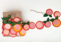 ADORABLE peach garland!