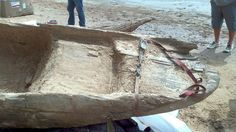 Boaters Discover a Very Old Dugout Canoe Near a River in Louisiana