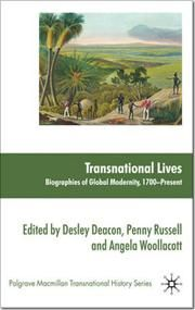 Transnational Lives - Biographies of Global Modernity, 1700-present