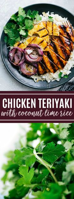 AMAZING Chicken Teriyaki with the BEST Teriyaki sauce and coconut lime rice! via… AMAZING Chicken Teriyaki with the BEST Teriyaki sauce and coconut lime rice! via chelseasmessyapro… Related posts: Grilled Lime Coconut Chicken with Coconut Rice Asian Recipes, New Recipes, Dinner Recipes, Favorite Recipes, Healthy Recipes, Recipies, Clean Eating, Healthy Eating, Healthy Food